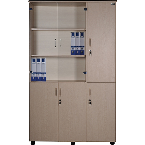 Tủ tài liệu gỗ NT1960-3B | Tủ gỗ Hòa Phát | Tủ văn phòng