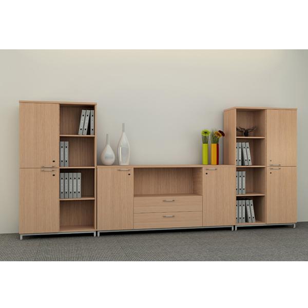 Tủ tài liệu gỗ HR950-3B | Tủ gỗ Hòa Phát | Tủ văn phòng
