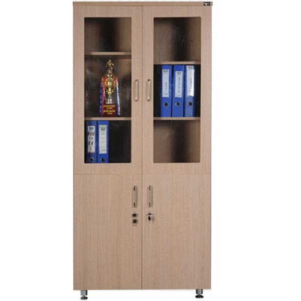 Tủ tài liệu gỗ HR1960-2B | Tủ gỗ Hòa Phát | Tủ văn phòng